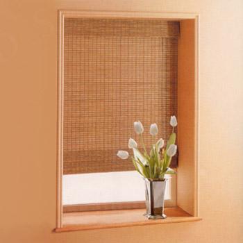 Бамбуковые шторы в дизайне интерьера