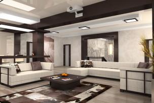 Интерьер комнаты мужчины