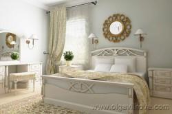 Дизайн спальни в стиле прованс. Одесса