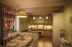 Дизайн интерьера кухни. Прованс. Одесса