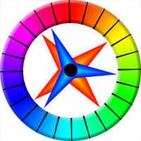 Большой цветовой круг Освальда
