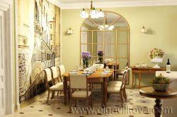 Дизайн интерьера столовой. Одесса