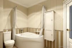 Дизайн ванной комнаты в классическом стиле. Одесса
