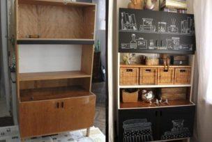 Обработка старой мебели - Дизайн интерьера в Одессе